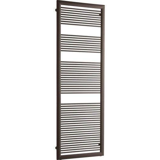s che serviettes eau chaude acier irsap like brun tabac. Black Bedroom Furniture Sets. Home Design Ideas