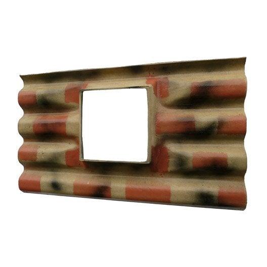 plaque ondul fibrociment flamme callibo calliprofil plaque a chassis flammee 5 leroy merlin. Black Bedroom Furniture Sets. Home Design Ideas