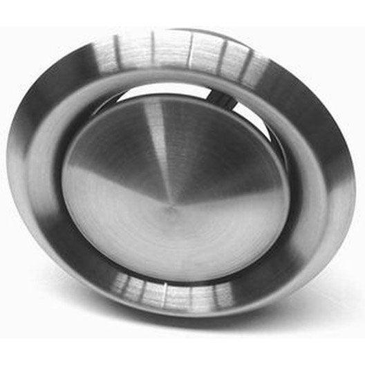 bouche d'aération hotte cheminée dmo encastrement diam.125mm, l