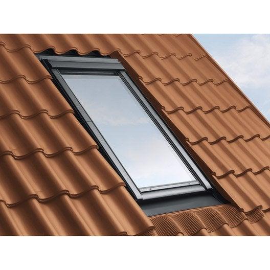 Raccord pour fen tre de toit velux ew sk06 gris leroy for Remplacer une fenetre de toit