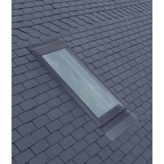 raccord pour fen tre de toit velux el ck04 gris leroy merlin. Black Bedroom Furniture Sets. Home Design Ideas