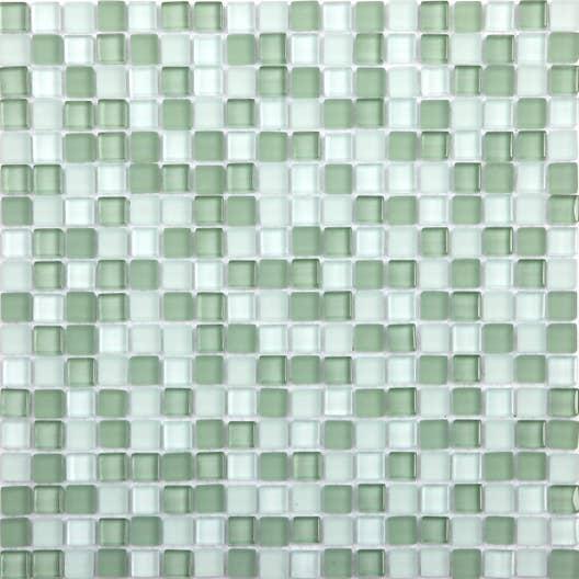 Mosaïque mur Glass vert | Leroy Merlin