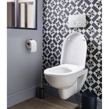 Wc suspendu wc abattant et lave mains toilette au meilleur prix leroy merlin - Wc dans cuisine ...