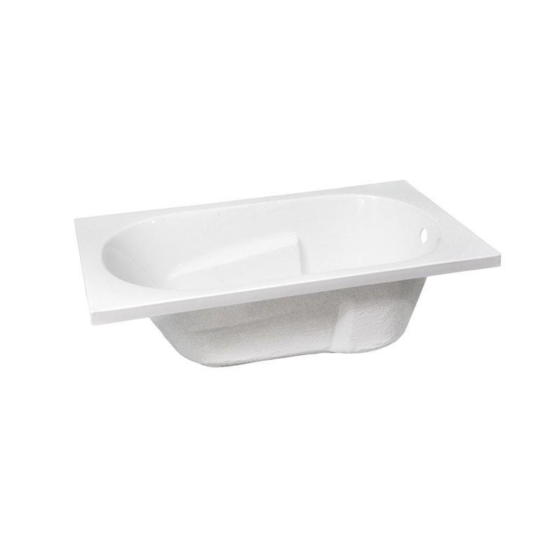 ... Baignoire rectangulaire L.170x l.75 cm blanc, SENSEA Access confort ... 252310aab8a0