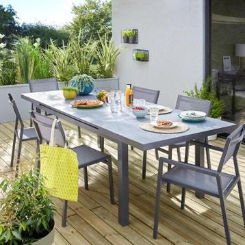 Table jardin extensible au meilleur prix | Leroy Merlin