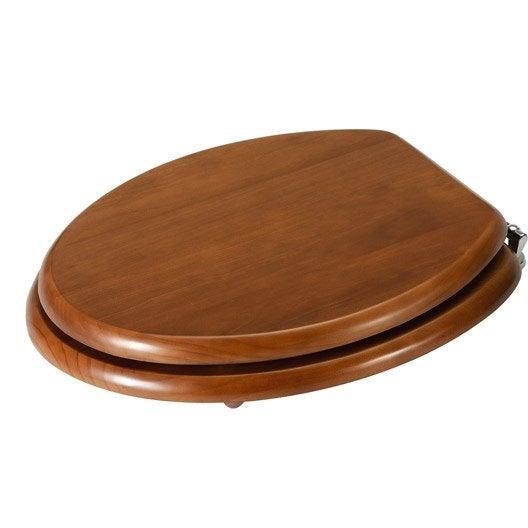 abattant wc sensea ceriza pin leroy merlin. Black Bedroom Furniture Sets. Home Design Ideas
