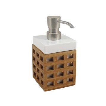 Distributeur de savon céramique Fudji, naturel