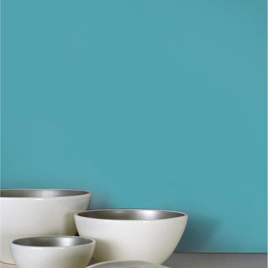 papier peint intiss lisse mat bleu atoll n 4 leroy merlin. Black Bedroom Furniture Sets. Home Design Ideas