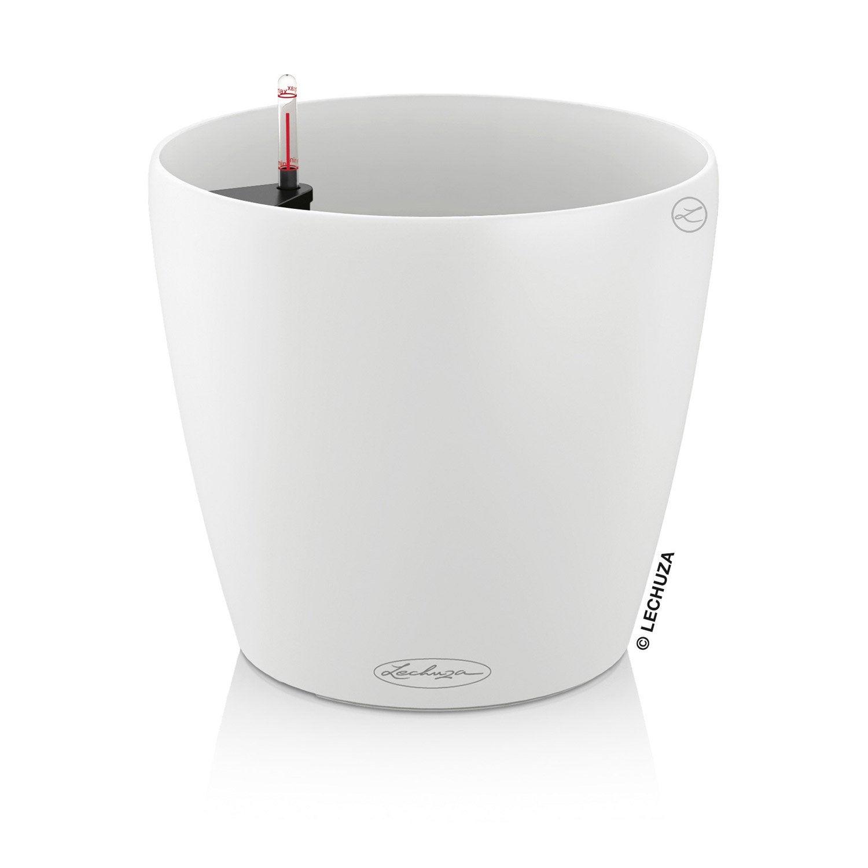 pot plastique r serve d 39 eau lechuza x cm. Black Bedroom Furniture Sets. Home Design Ideas