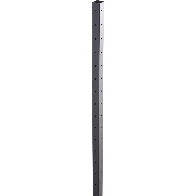 montant tube pour hubsystem spaceo l 3 x x p 3 cm leroy merlin. Black Bedroom Furniture Sets. Home Design Ideas