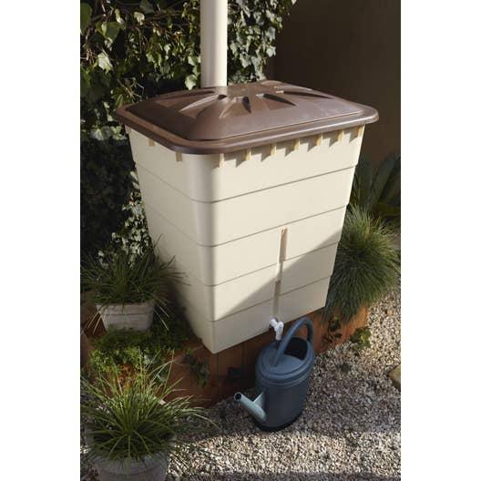 r cup rateur d 39 eau a rien garantia rectangulaire sable. Black Bedroom Furniture Sets. Home Design Ideas