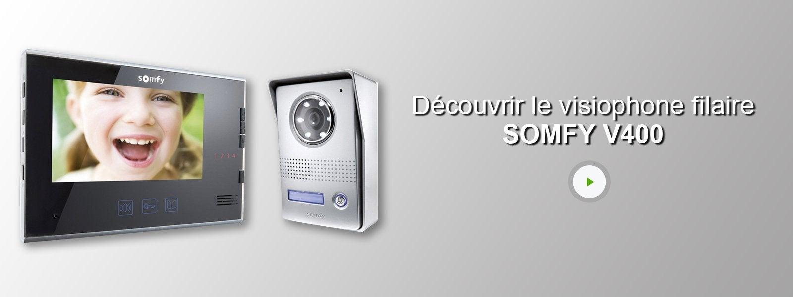 beautiful le visiophone filaire somfy v with interphone sans fil leroy merlin. Black Bedroom Furniture Sets. Home Design Ideas