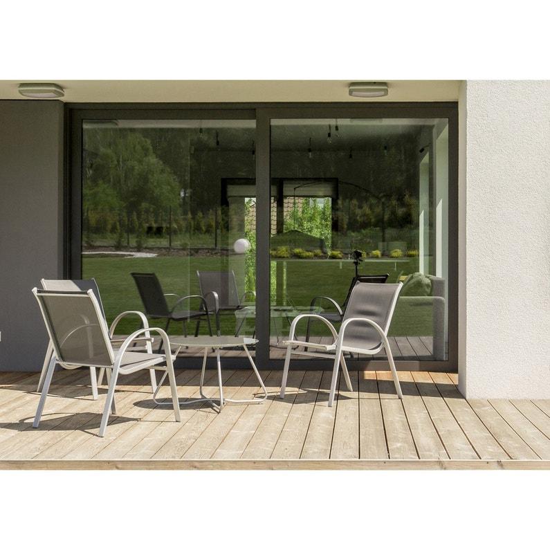 Volet Roulant Baie Vitree.Baie Vitree Brico Premium Aluminium Blanc Avec Volet Roulant H 215 X L 210 Cm