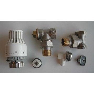 T te et robinet de radiateur robinet et accessoires de radiateur eau chaude au meilleur prix - Robinet thermostatique sar ...