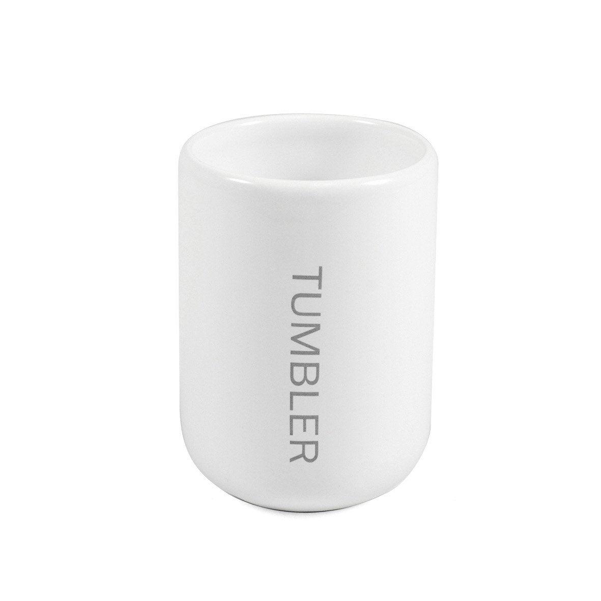 Gobelet céramique Oslo, blanc-blanc 0