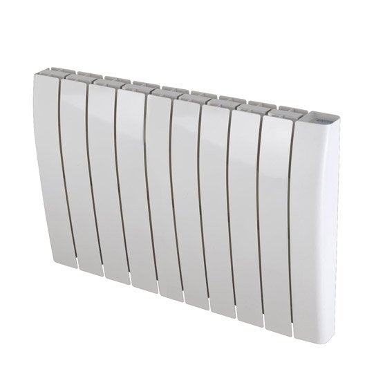 radiateur lectrique inertie pierre deltacalor sagoma 2000 w leroy merlin. Black Bedroom Furniture Sets. Home Design Ideas