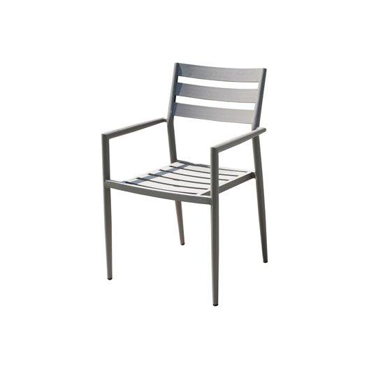 Chaise et fauteuil de jardin - Salon de jardin, table et chaise ...