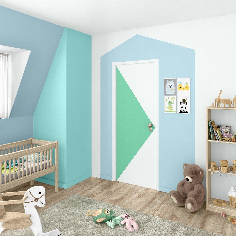 du graphisme sur les murs leroy merlin. Black Bedroom Furniture Sets. Home Design Ideas