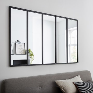 miroir design industriel miroir mural sur pied au meilleur prix leroy merlin. Black Bedroom Furniture Sets. Home Design Ideas