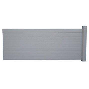 cl ture cl ture aluminium fer bois pvc leroy merlin. Black Bedroom Furniture Sets. Home Design Ideas