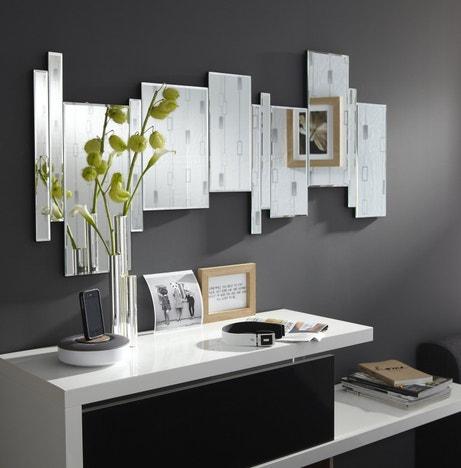Jeu de miroirs pour un salon design