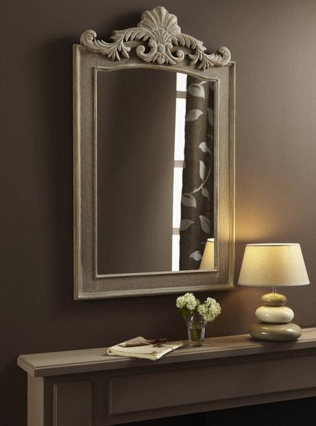 Un miroir élégant et chic