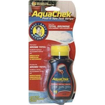 Languettes d'analyse piscine Aquacheck