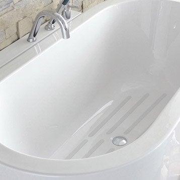 Pastilles antidérapantes blanc pour baignoire / douche, Grip