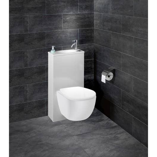 pack wc suspendu b ti sol trio 2 leroy merlin. Black Bedroom Furniture Sets. Home Design Ideas