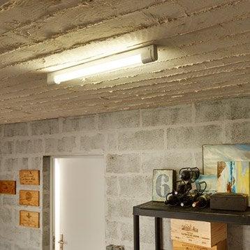 Réglette, LED 1 x 9 W, T8 blanc froid