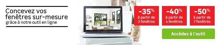OAA - concevez vos fenêtres sur-mesure