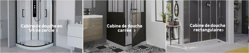 Cabine De Douche Salle De Bains Au Meilleur Prix Leroy