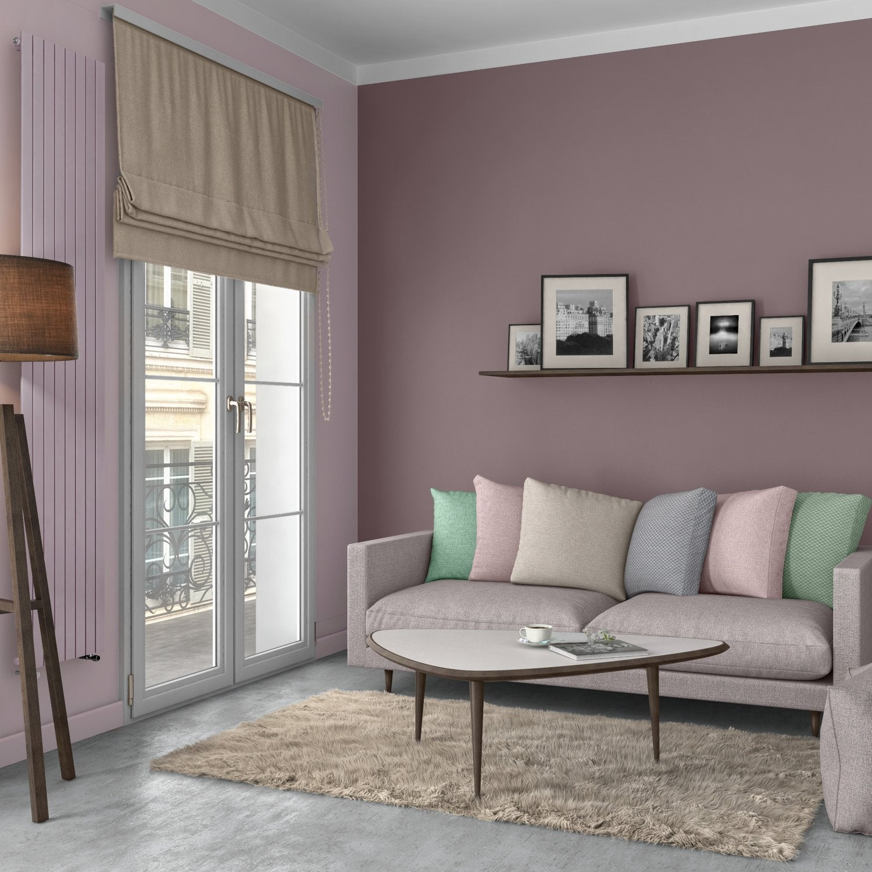 Un salon brun au style scandinave | Leroy Merlin