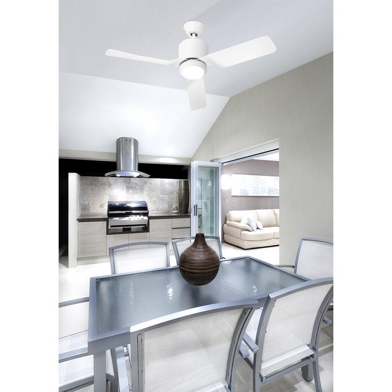 Ventilateur Vera Leds C4 Blanc 15 W
