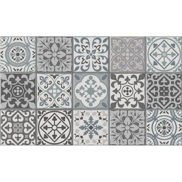tapis vinyl carreaux de ciment | Leroy Merlin