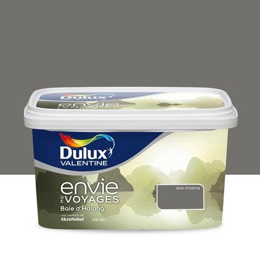 Peinture gris baie long expression dulux valentine envie - Peinture salle de bain dulux valentine ...
