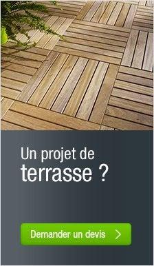 Lames de terrasse leroy merlin free lame de terrasse bois - Brico depot lame de terrasse ...