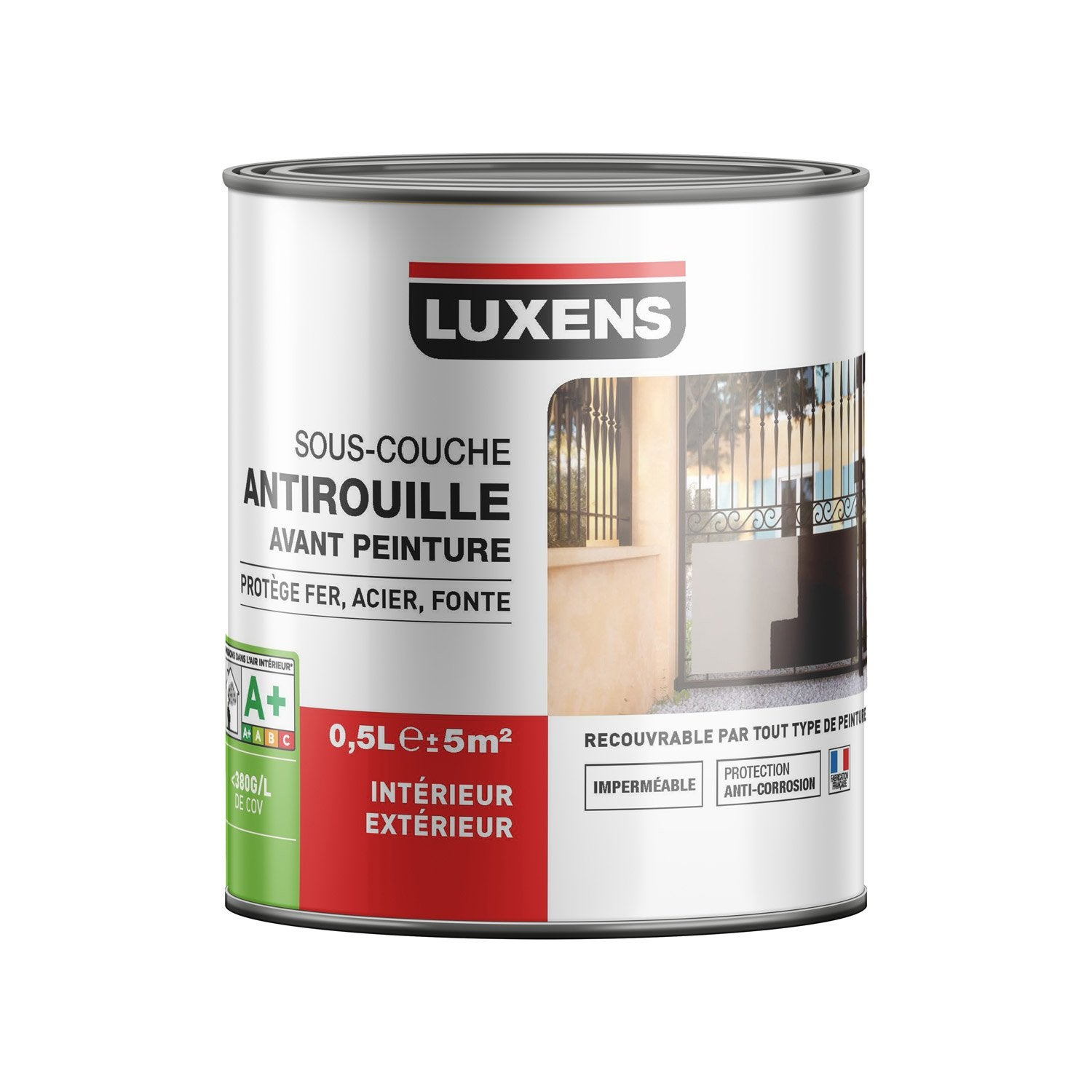 Sous Couche Fer / Antirouille LUXENS 0.5 L Nice Look