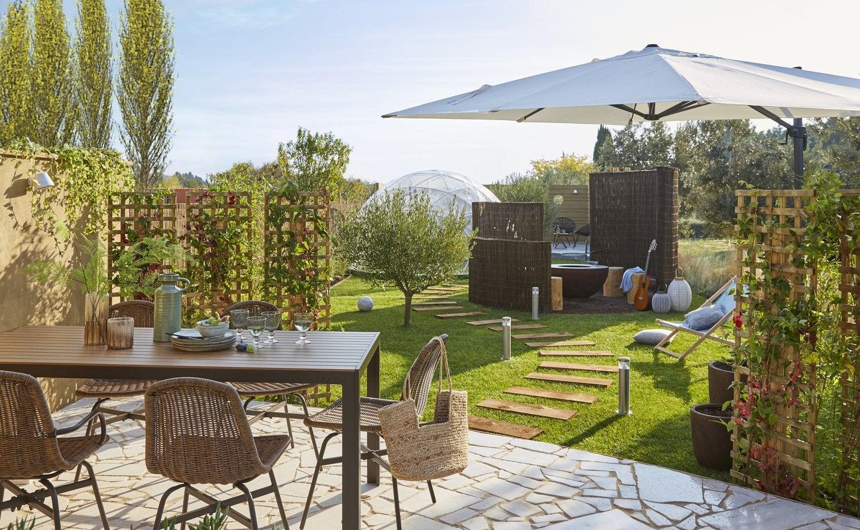 des all es inspir es pour votre jardin leroy merlin. Black Bedroom Furniture Sets. Home Design Ideas