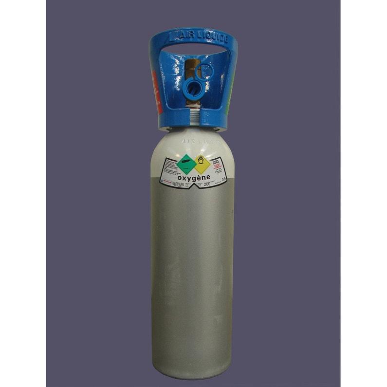 Portable réservoir d'oxygène brancher