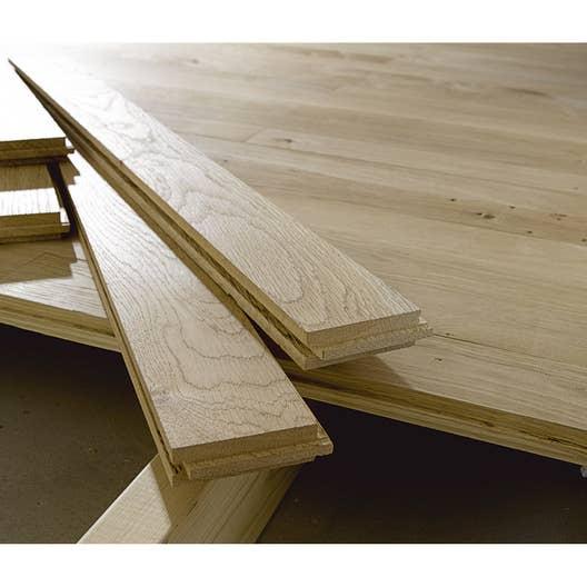 plancher massif ch ne noueux et ou 80 x l 7 cm. Black Bedroom Furniture Sets. Home Design Ideas