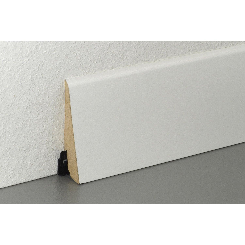 plinthe parquet et sol stratifi peindre cm x h. Black Bedroom Furniture Sets. Home Design Ideas