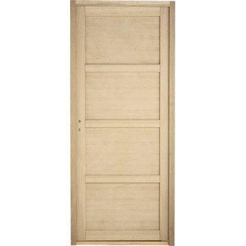 Porte int rieur et bloc porte menuiserie int rieure for Porte 63 cm lapeyre