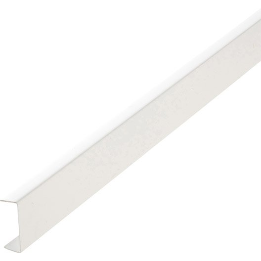 Nez de cloison pvc blanc 20 x 54 mm l 2 6 m leroy merlin for Interieur du nez