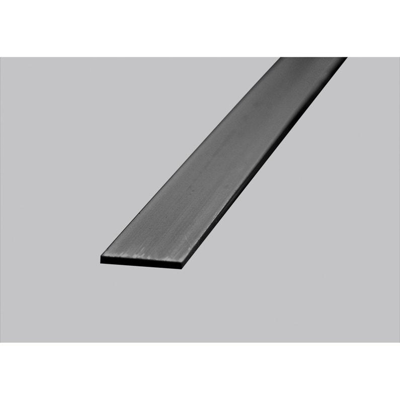 Plat Pvc Noir 2 X 30 Mm L26 M