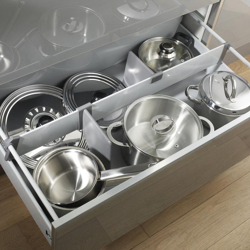 Rangement Casserolier Cuisine: Des Séparateurs De Casserolier Pour Ranger Les Tirroirs De