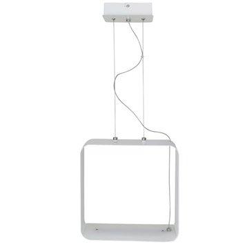 Suspension, led intégrée design Ikari métal blanc 1 x 20 W INSPIRE