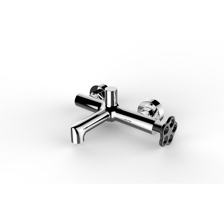 Mitigeur mécanique de baignoire chromé brillant, SENSEA