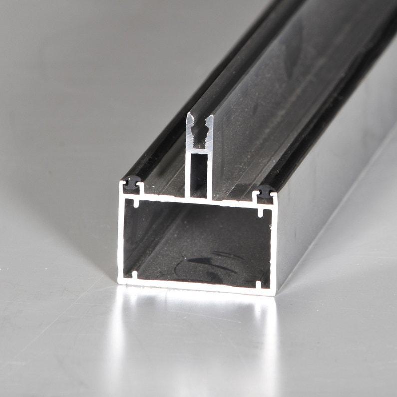 Tube 60 Sur Mesure Jonction Pour Plaque Ep 16 Mm Aluminium L05 M