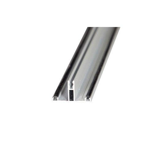profil t sur-mesure jonction pour plaque ep. 32 mm blanc, l.0.5 m